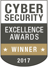 Cyber Security Excellence Awards 2017 winner