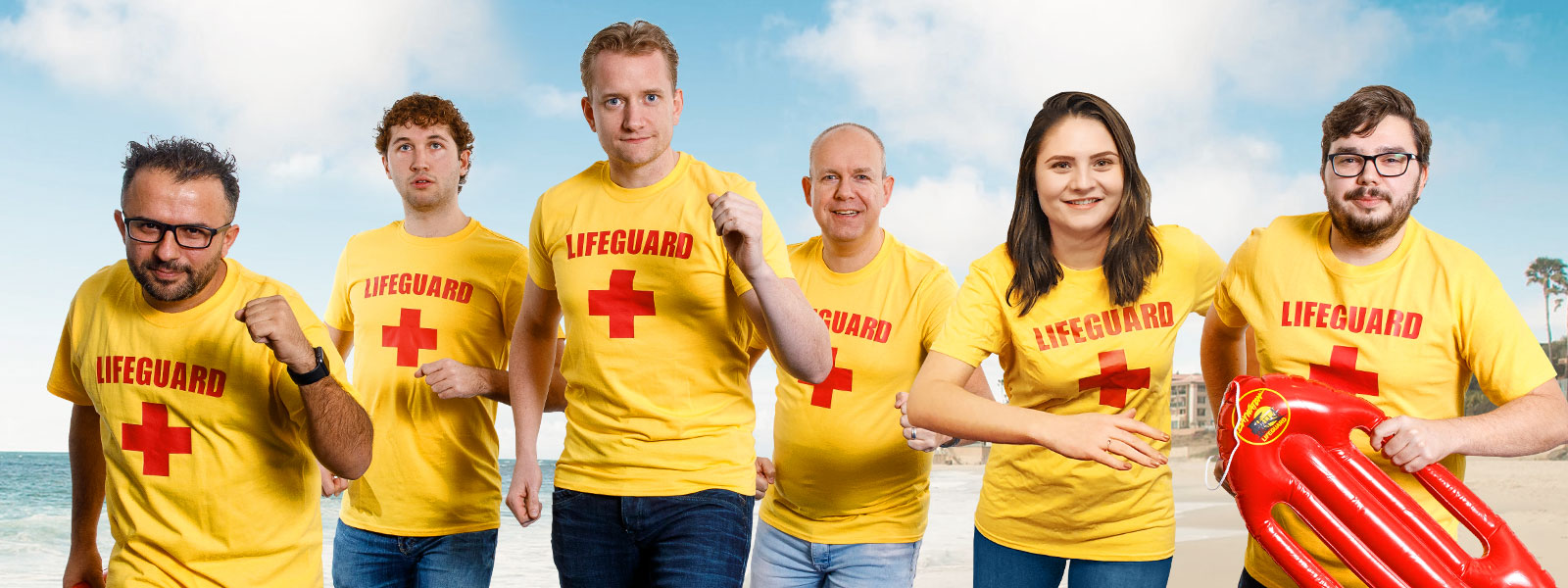 Lifeguards to the rescue!