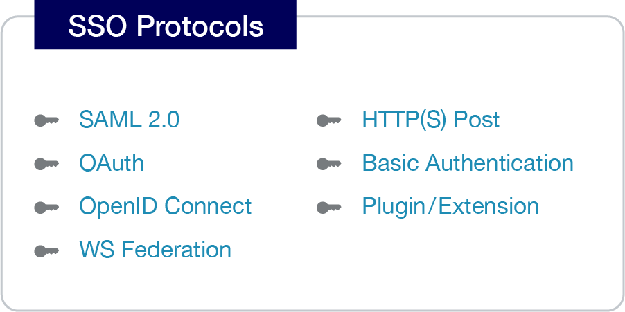 single sign on protocols
