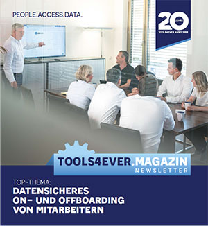 Tools4ever Magazin datensicheres on und offboarding