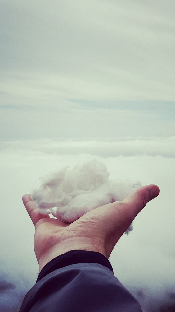 Cloud in hand