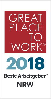 Logo Great Place to Work NRW 2018